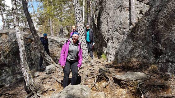 Vandring skogen Tyresö