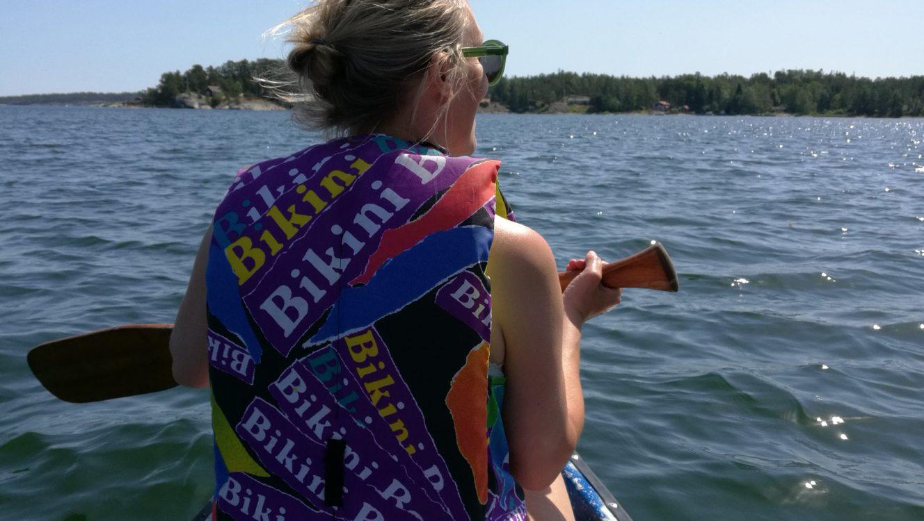 Kanot paddling Ornö